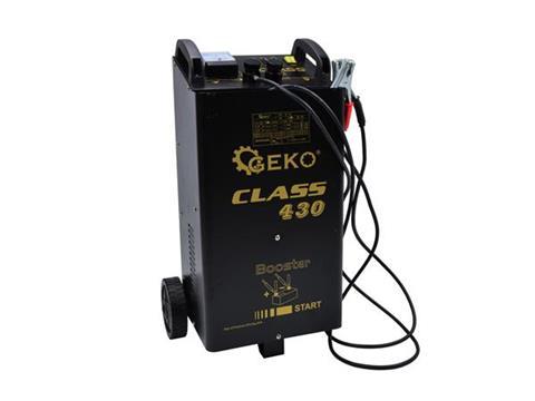 GEKO Akkumulátortöltő töltő és indító bikázó CLASS 430 G80024
