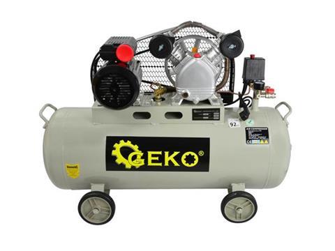GEKO Kompresszor sűrítő 100L V2 egyfázisú G80302