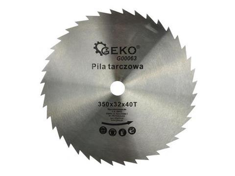 GEKO körfűrészlap fához 350x32x40 G00063