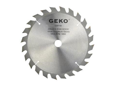 Geko körfűrész tárcsa 230x22x24T G00138