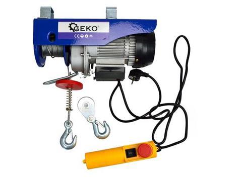 GEKO Elektromos csörlő 150/300kg egyszer használt G01087EH