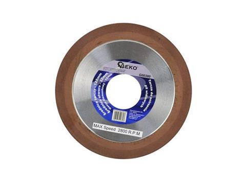GEKO Gyémánt élezőkorong körfűrésztárcsa élezéshez vídia élező 125x10x32x2 (100) G00380