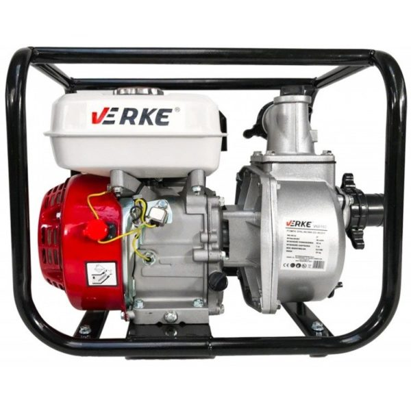 """Verke benzinmotoros szivattyú benzines vízszivattyú 6.5 Le 2"""" V60102"""