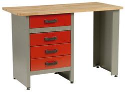 MARS munkaasztal munka asztal 4 fiókos 120x60x84 4803