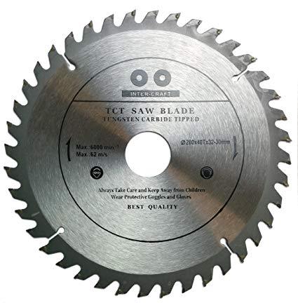 Inter Craft vídiás körfűrész tárcsa 200 mm IC200