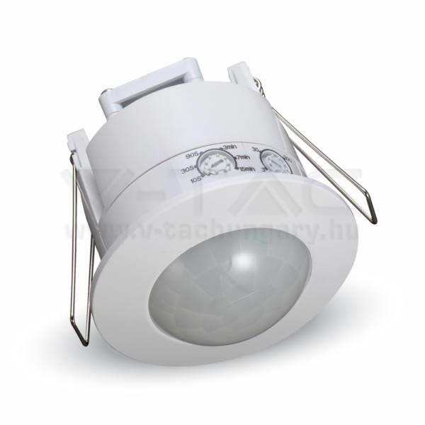 V-TAC mennyezeti beépíthető mozgásérzékelő 360° fehér – 1356