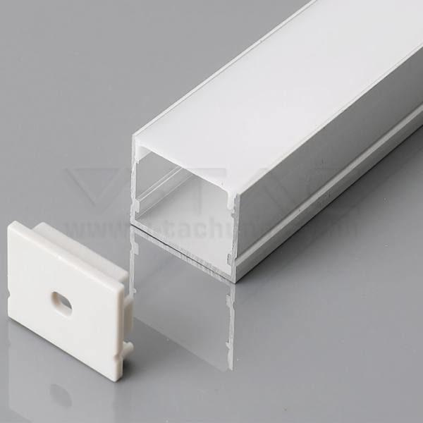 V-TAC Alumínium profil tejfehér 2000 x 30 x 20mm – 3371