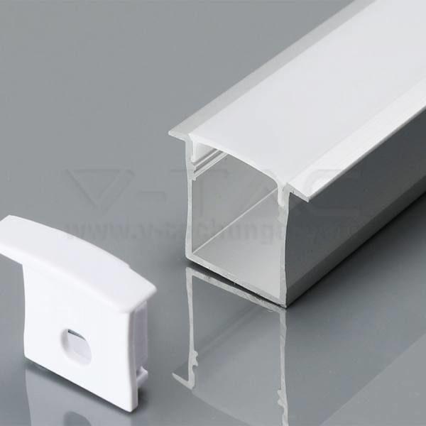 V-TAC Alumínium profil tejfehér 2000 x 30 x 20.5mm – 3372
