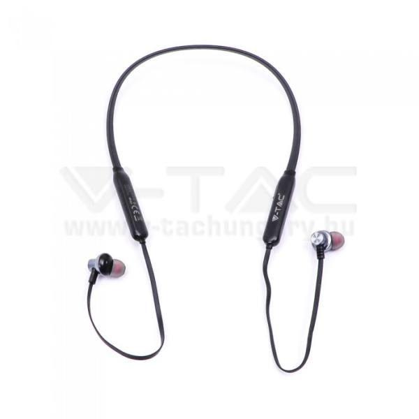 V-TAC SPORT Bluetooth-os headset 500mAh fekete – 7710