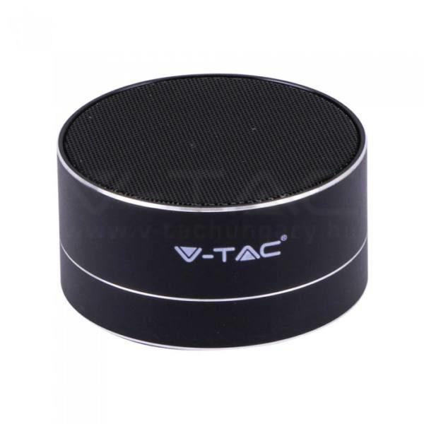 V-TAC Bluetooth hangszóró 3W 400mAh – fekete – 7712