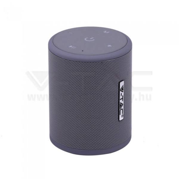 V-TAC Bluetooth hangszóró 5W 1500mAh – ezüst – 7720