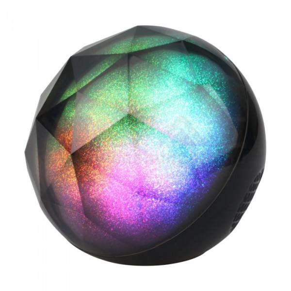V-TAC Led hordozható hangszóró kristály, RGB, Bluetooth-os irányítással, 1200mAh akkumulátor – 7722