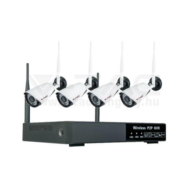 V-TAC SMART 1080P vezeték nélküli NVR kamera, teljes szett IP 20 – 8400