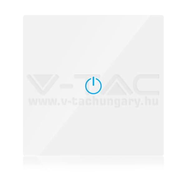 V-TAC SMART WIFI-s Érintős kapcsoló fehér – 8417