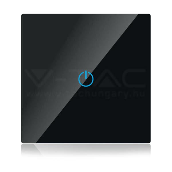 V-TAC SMART WIFI-s Érintős kapcsoló fekete – 8423