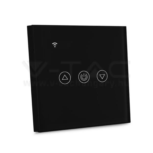 V-TAC SMART HOME WIFI-s érintős fényerőszabályzó fekete – 8432