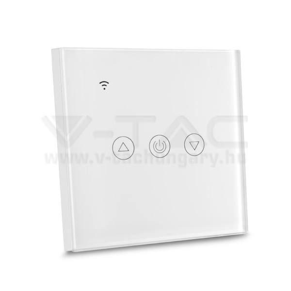 V-TAC SMART HOME WIFI-s érintős fényerőszabályzó fehér – 8433