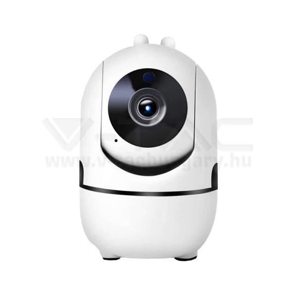 V-TAC 1080P IP beltéri kamera tápcsatlakozóval automatikus követés funkcióval – 8439