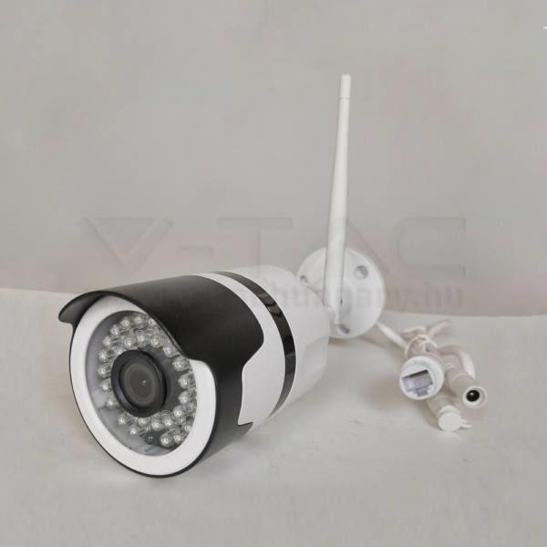 V-TAC SMART 1080P bel – és kültéri kamera tápcsatlakozóval – 8441
