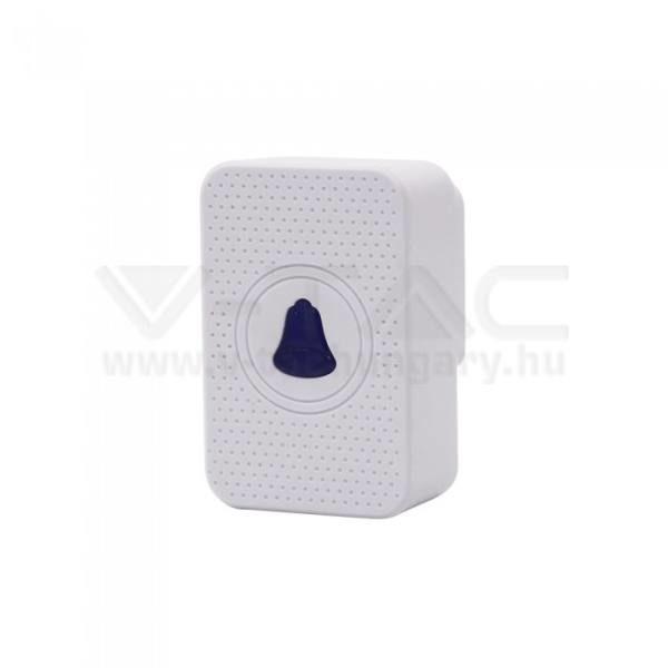 V-TAC Vezeték nélküli beltéri egység smart kaputelefonhoz – fehér – 8445