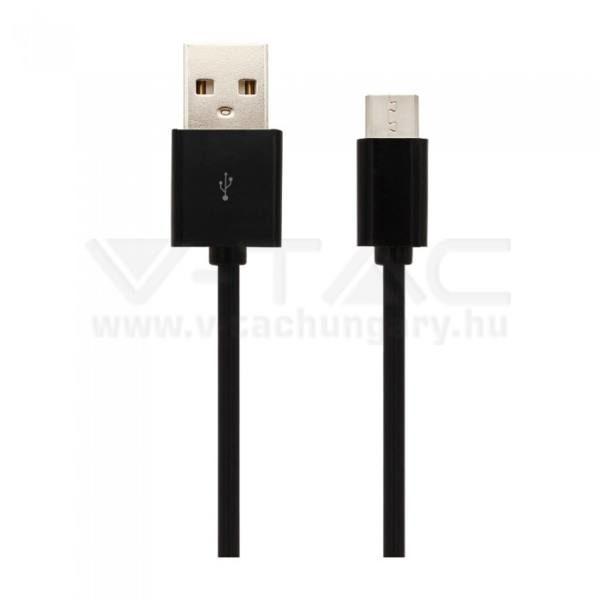 """V-TAC USB """"C"""" kábel 1,5m fekete – 8454"""