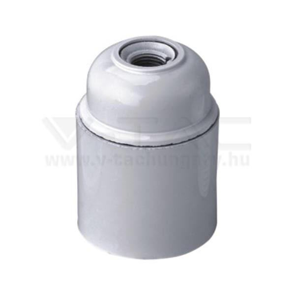 V-TAC E27 Foglalat fehér – 8752