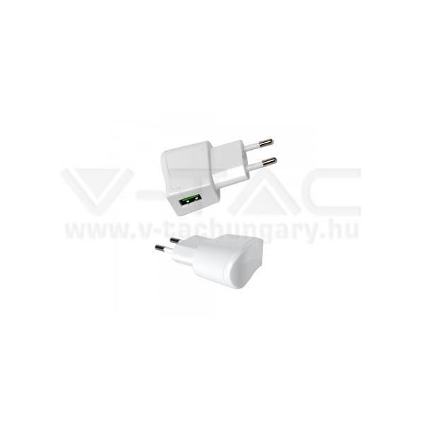 V-TAC USB Adapter fehér színű – 8791