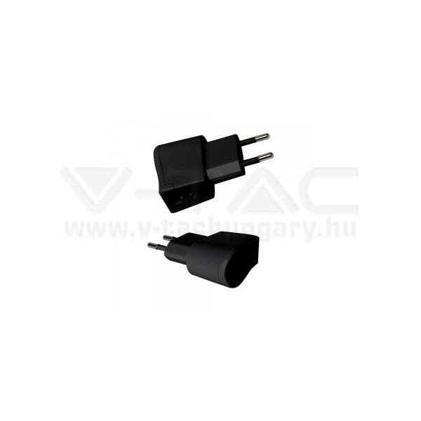 V-TAC USB Adapter fekete színű – 8792