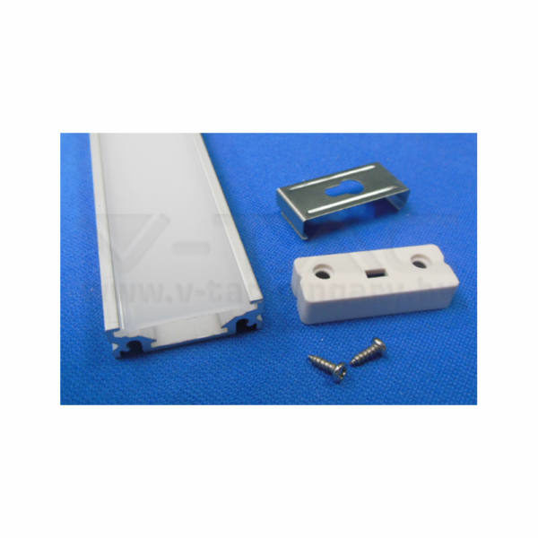 V-TAC Led Alumínium profil matt – 9986