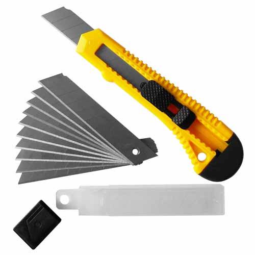 Magg tapétavágó kés vágó kés 18mm + 10 tartalék penge 080148