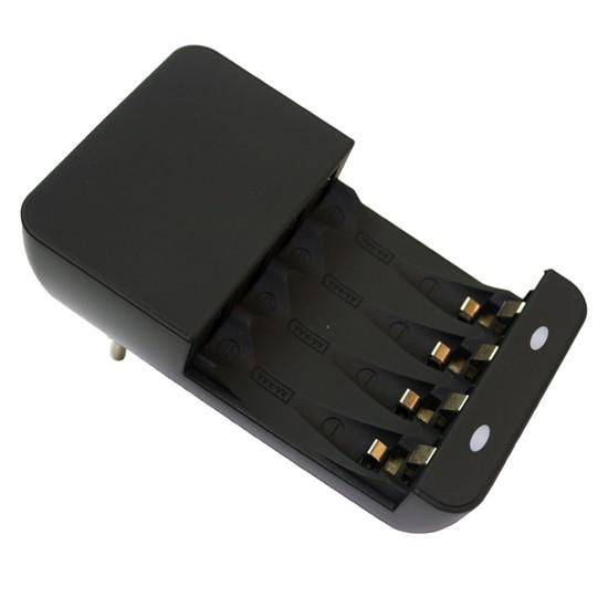 Solight töltő, AC 230 V, max. 180 mA, 2 csatornás, AA / AAA