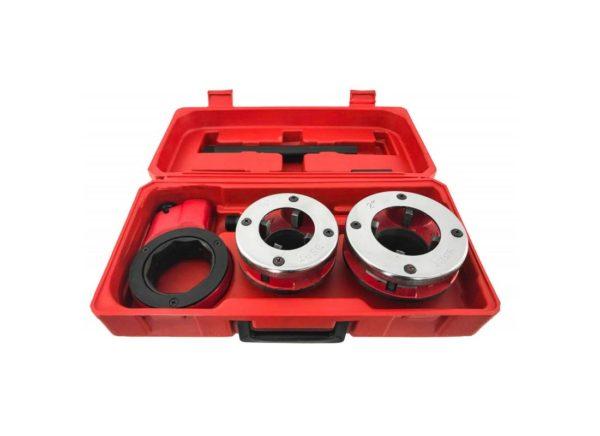 Verke V07510 csőmenetmetsző cső menetmetsző készlet 2 részes V07510