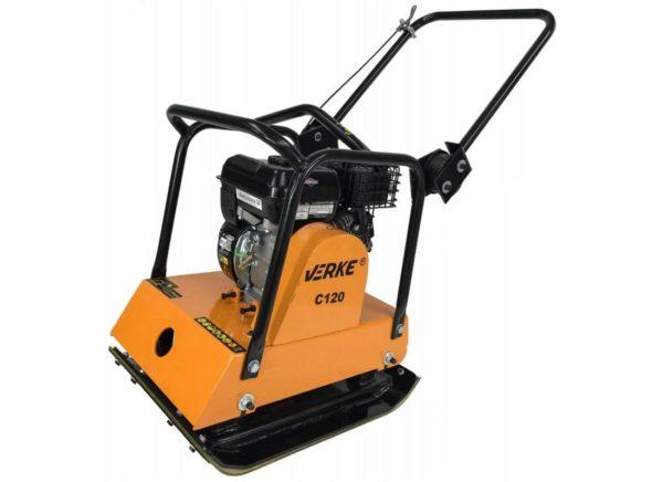 Verke V10115 benzinmotoros lapvibrátor 3,7 kW / 98 kg V10115