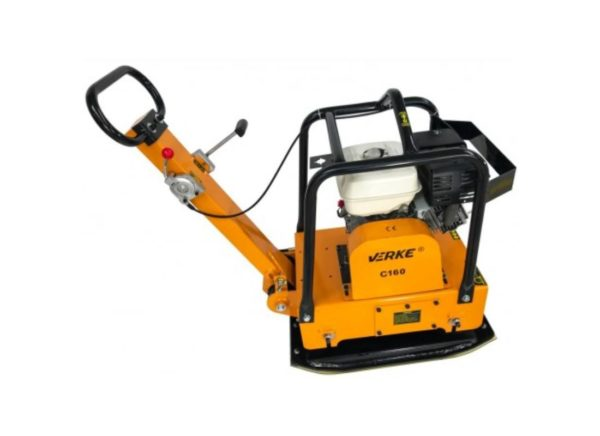 Verke V10120 benzinmotoros lapvibrátor 6,6 kW / 171 kg V10120