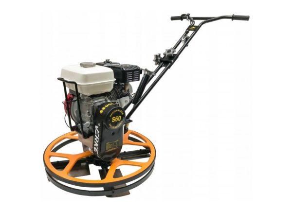 Verke V10137 benzines betonsimító 6,5 LE / 60 cm / 58 kg V10137
