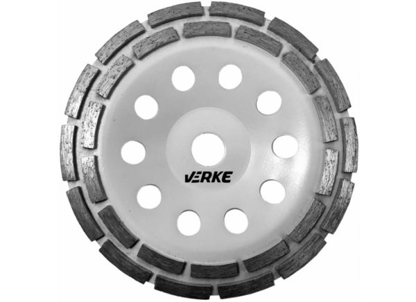 Verke V44220 betoncsiszoló gyémánttárcsa 180 mm (Dupla) V44220