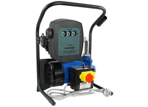 Verke V80150 hordozható üzemanyag szivattyú mérőórával 600 W / 40 l/p / 25 m V80150