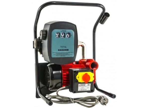 Verke V80151 hordozható üzemanyag szivattyú mérőórával 600 W / 50 l/p / 12 m V80151
