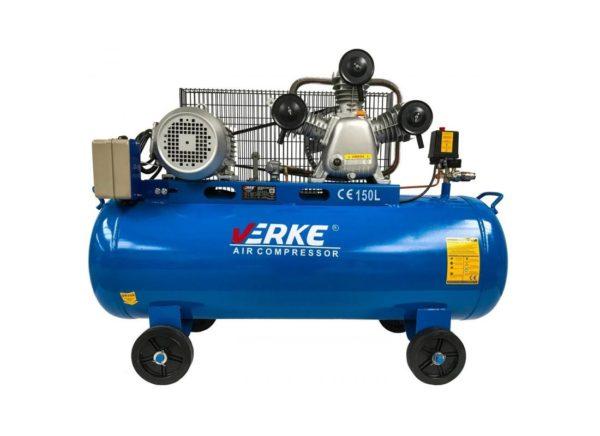 Verke V81121 kéthengeres kompresszor 3 kW / 150 l / 8 bar V81121