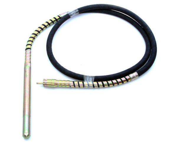 Betonvibrátor vibrátor tömlő cső rázófej flexibilis szár 6m 38mm gyorscsatlakozó M79494-hez M79536