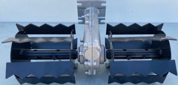 Kapa saraboló adapter fűkaszához fűkasza recés 26 mm 9 borda KSAF269R