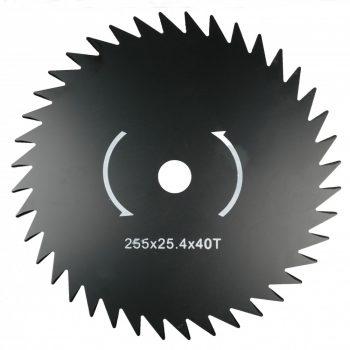 Fűkasza kés penge vágótárcsa bozótvágó fűrészfogas FKK-02