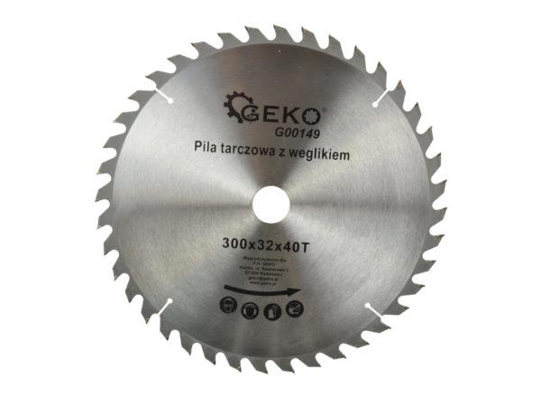 Geko körfűrészlap körfűrész tárcsa vídiás 300×32 mm 40 fog G00149