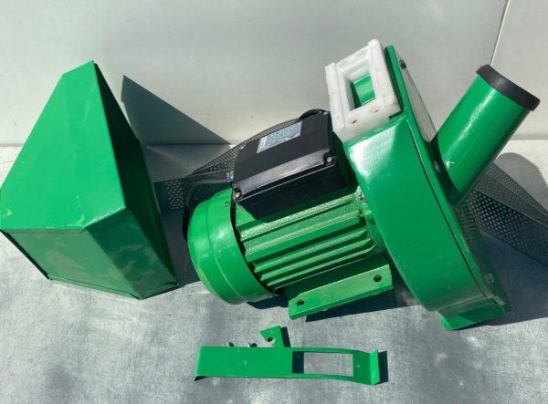 Kukorica terménydaráló daráló kalapácsos 3500W egyszer használt sérült zöld KDZ3500EH