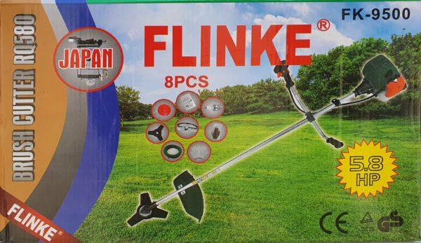 Flinke benzinmotoros fűkasza benzines bozótvágó 5,5le 65 cm3 FK-9500
