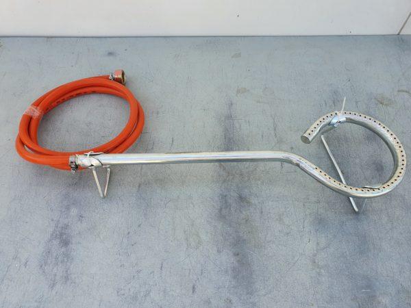 Körégő bográcshoz gázégő gázrózsa 16 cm KOREGO16