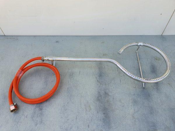 Körégő bográcshoz gázégő gázrózsa 25 cm KOREGO25