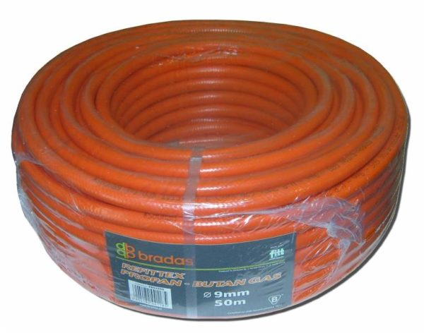 Propán – Bután PB gáztömlő gázcső 9 mm PB9