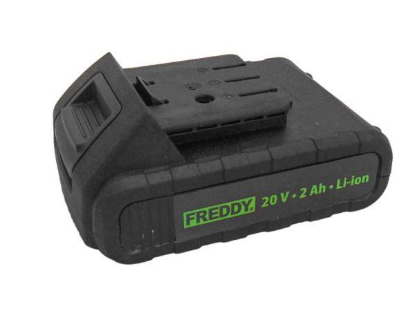 FREDDY pótakku FR004 akkumulátoros csavarozóhoz új típusú 2 Ah FR004AKUNEW