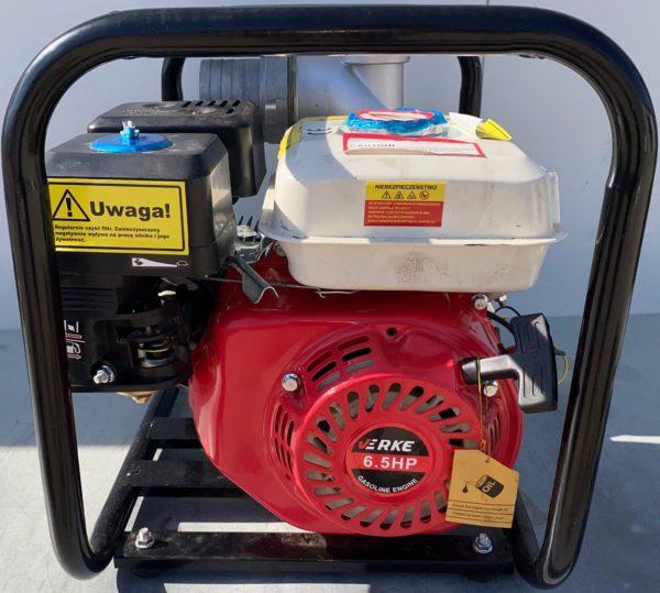 """Verke benzinmotoros vízszivattyú benzines szivattyú 900l/óra 3"""" 6.5Le használt V60104-H"""